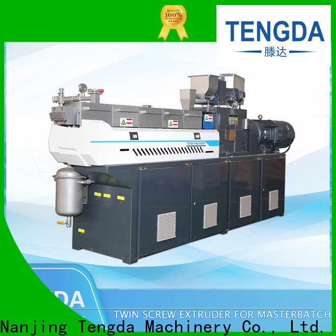 TENGDA lab twin screw extruder factory for plastic