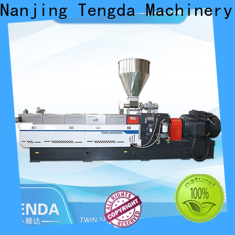 New twin screw rubber extruder supply for food