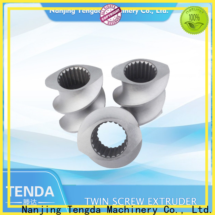 Latest twin screw extruder parts company for PVC pipe