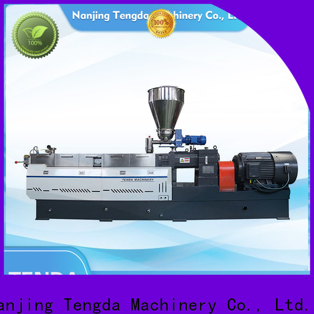 TENGDA feed extruder supply for plastic