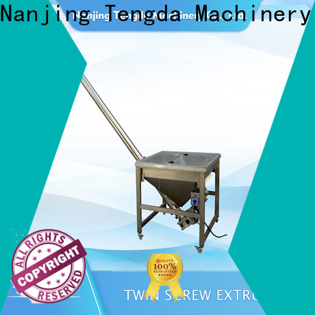 TENGDA Top automatic screw feeder suppliers suppliers for clay