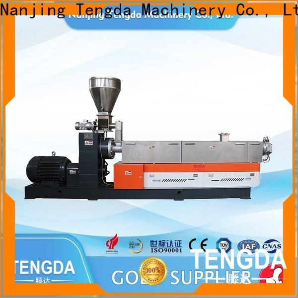 TENGDA screw extruder machine supply for plastic