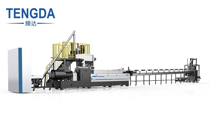 Biodegradable Granules Twin Screw Extruder Machine for Corn Rice