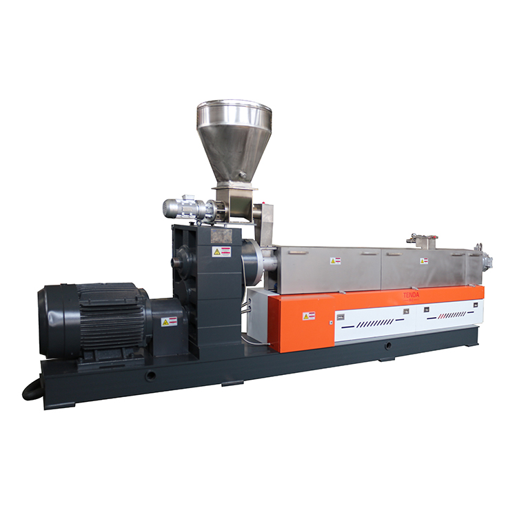 Latest single screw extruder food processing factory for PVC pipe-1